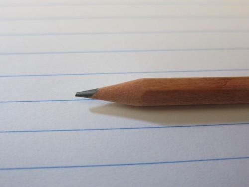 鉛筆 削る前