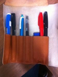 筆記具たち