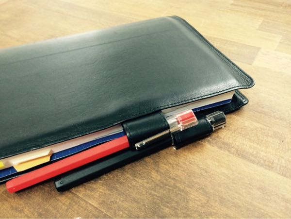 ほぼ日手帳手帳のペンは二刀流