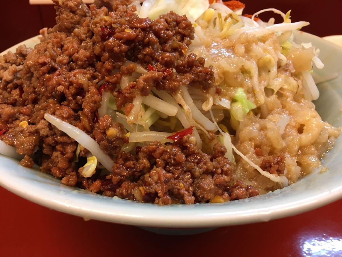 中汁なし麺